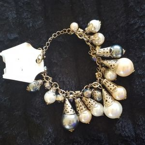 [4 for $21] Fashion pearl chunky bracelet